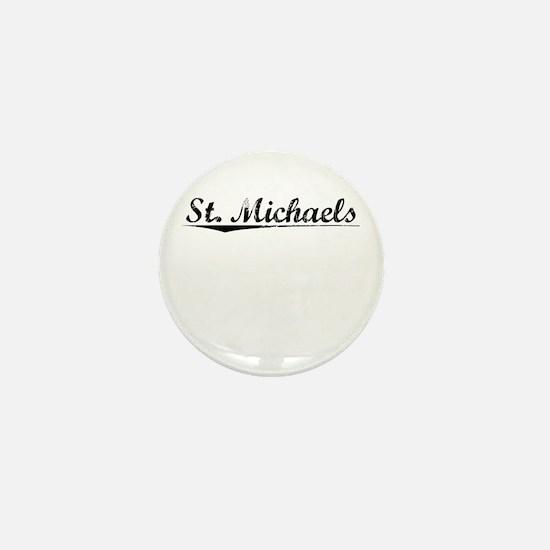 St. Michaels, Vintage Mini Button