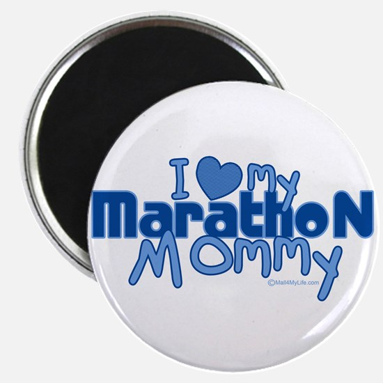 I Love My Marathon Mommy Magnet
