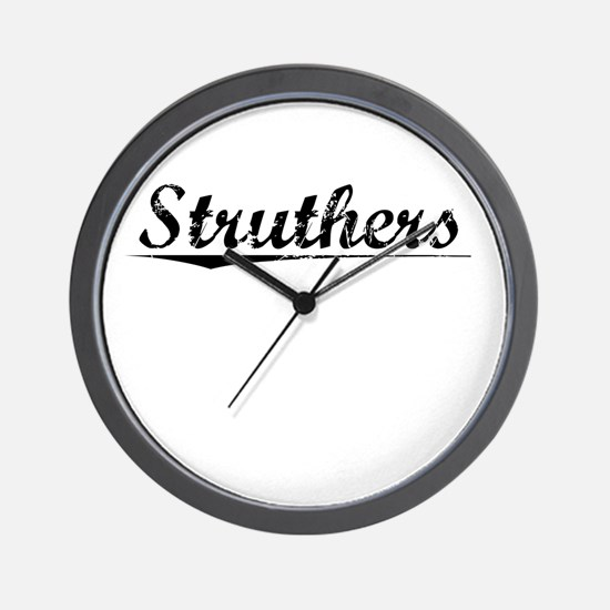 Struthers, Vintage Wall Clock