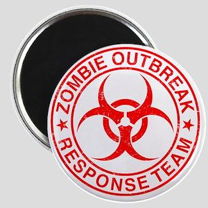 Zombie Outbreak Response Team Magnet