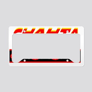 CHAHTA License Plate Holder