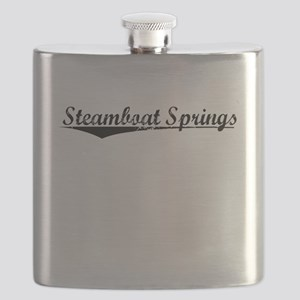Steamboat Springs, Vintage Flask