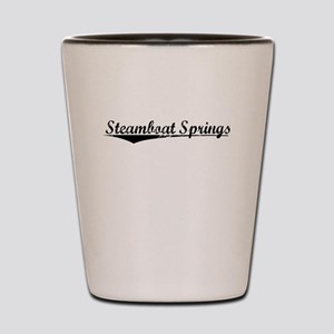Steamboat Springs, Vintage Shot Glass