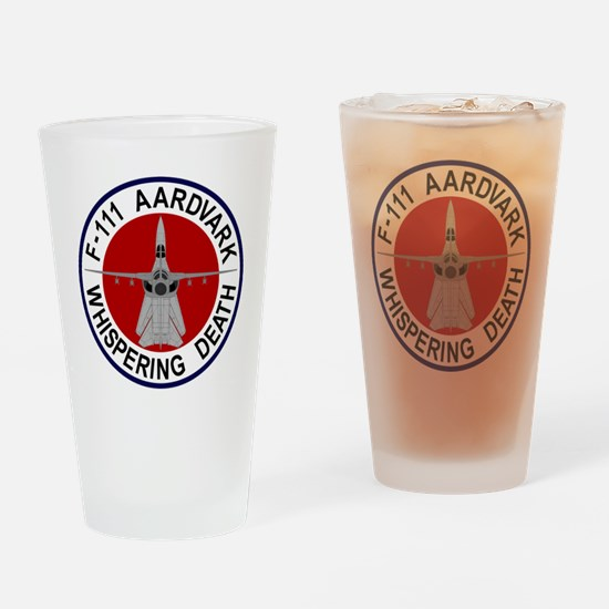 F-111 Aardvark - Whispering Death Drinking Glass