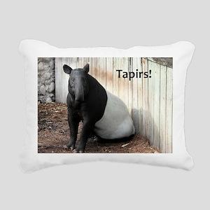 Tapir Rectangular Canvas Pillow