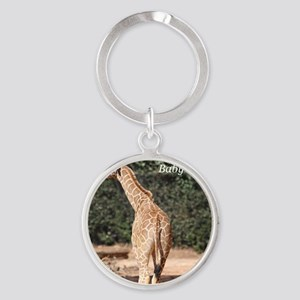 Baby Animals Round Keychain