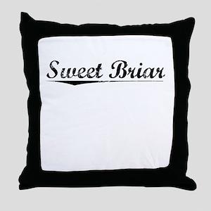 Sweet Briar, Vintage Throw Pillow