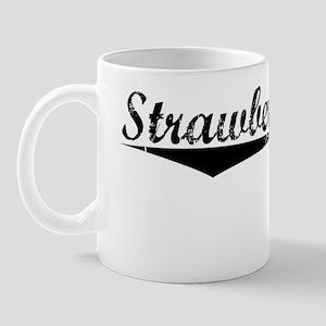 Strawberry Plain, Vintage Mug