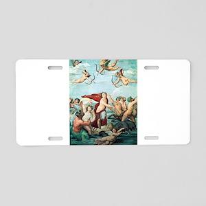 Galatea - Raphael Aluminum License Plate