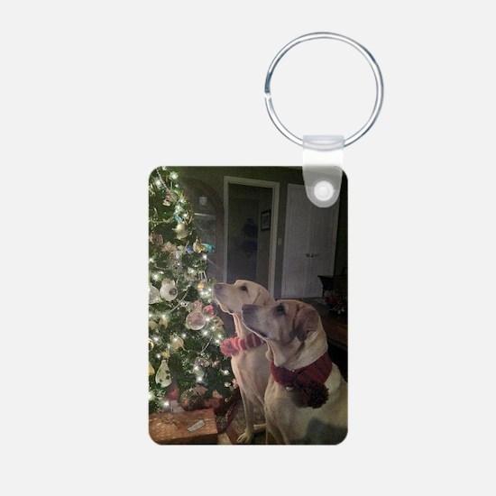 Labrador Holiday Keychains