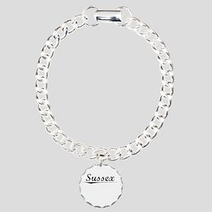 Sussex, Vintage Charm Bracelet, One Charm