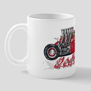 Red Baron Hot Rod BL Mug