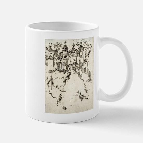 Gatewar, Chartreux - Whistler - c1880 Small Mug