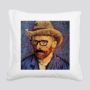VanGough Incognito Square Canvas Pillow