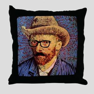 VanGough Incognito Throw Pillow