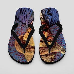 VanGough Incognito Flip Flops
