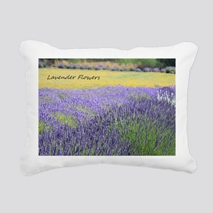 Lavender Rectangular Canvas Pillow