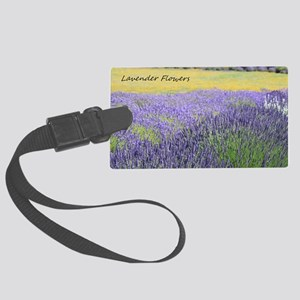 Lavender Large Luggage Tag