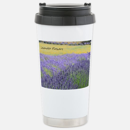 Lavender Stainless Steel Travel Mug