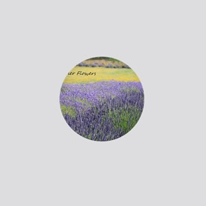 Lavender Mini Button