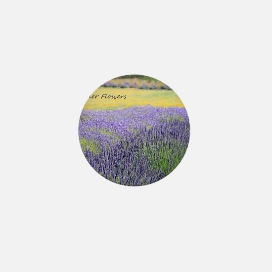 Lavender Mini Button