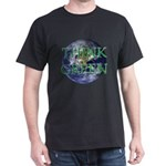 Think Green Earth Dark T-Shirt