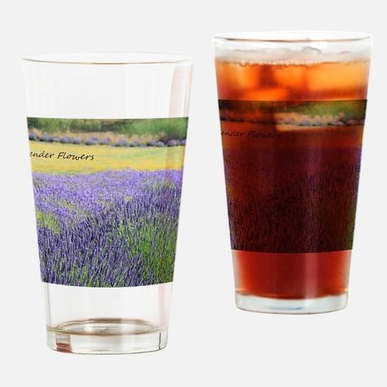 Lavender Drinking Glass