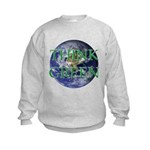 Think Green Earth Kids Sweatshirt
