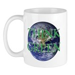 Think Green Earth Mug