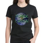Think Green Earth Women's Dark T-Shirt