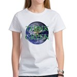 Think Green Earth Women's T-Shirt