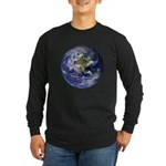 Earth Long Sleeve Dark T-Shirt