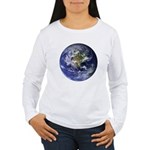 Earth Women's Long Sleeve T-Shirt
