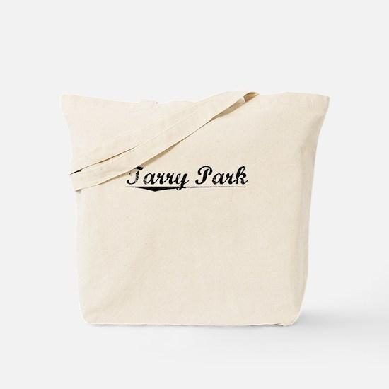 Tarry Park, Vintage Tote Bag