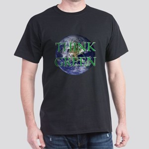 Think Green Double Sided Dark T-Shirt