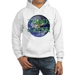 Think Green Double Sided Hooded Sweatshirt