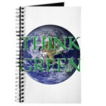 Think Green Double Sided Journal