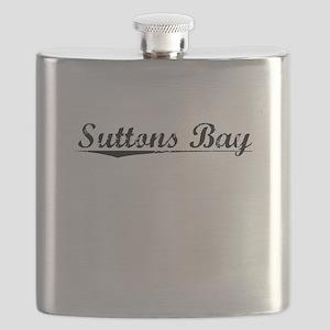 Suttons Bay, Vintage Flask