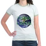 Think Green Double Sided Jr. Ringer T-Shirt