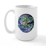 Think Green Double Sided Large Mug