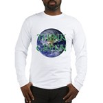 Think Green Double Sided Long Sleeve T-Shirt