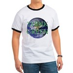 Think Green Double Sided Ringer T