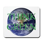 Think Green Double Sided Mousepad