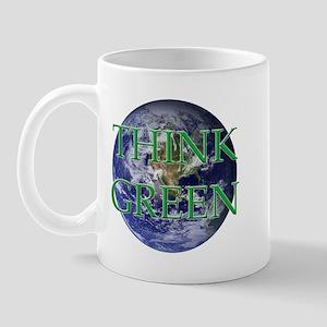 Think Green Double Sided Mug