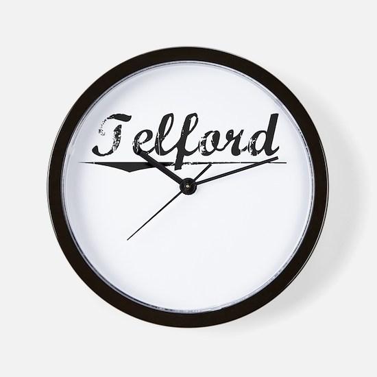 Telford, Vintage Wall Clock