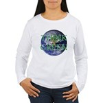 Think Green Double Sided Women's Long Sleeve T-Shi