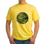 Think Green Double Sided Yellow T-Shirt
