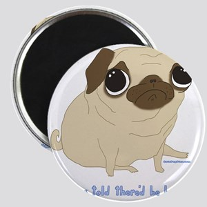 Bacon Pug Magnet