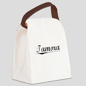 Tamora, Vintage Canvas Lunch Bag