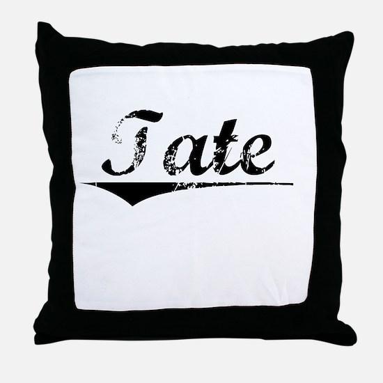 Tate, Vintage Throw Pillow